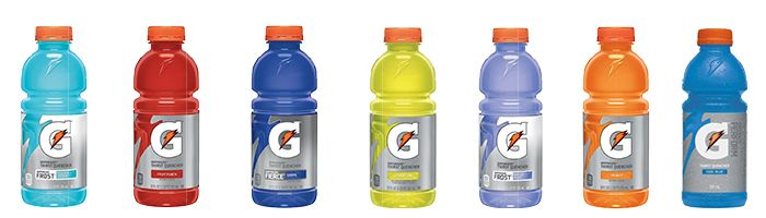 Gatorade 20 oz Drink in vielen Flavours