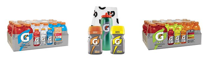 Gatorade Packs, Sets und Bundles